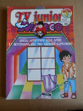 TV JUNIOR n°7  1982 Galaxy Express 1999 Marco Giumbolo ed. ERI RAI  [G419A]
