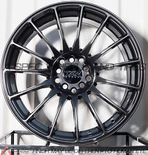 17X8.25 XXR 550 WHEELS 5X100/114.3 +19 CHROMIUM BLACK RIM FITS MAZDA SPEED 3