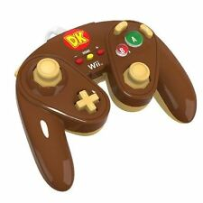 Wired Fight Pad for Wii U - DONKEY KONG Controller PDP Super Smash Bros NEW