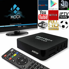 KODI 16 (XBMC) Quad Core Android 4.4 TV Box HDMI HD Media Player Streamer UK NEW