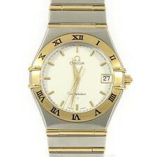 Authentic OMEGA REF.1212 30 Constellation Gold & Steel  Quartz  #260-001-611-...