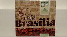 Cafe Brasilia - Smooth & Flavorful Sounds from Brazil (CD, 2001, Avalon) New!
