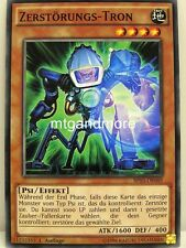 Yu-Gi-Oh - 1x Zerstörungs-Tron - BP03 - Monster League