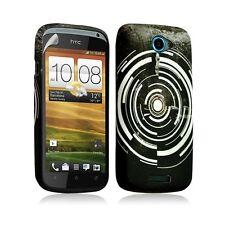Housse coque étui gel pour HTC One S motif LM13+ Film protecteur