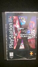 ESPN Extreme Games (Sony PlayStation 1, 1995) Long Box, CIB Complete with Manual