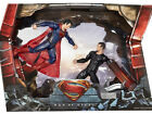 SDCC 2013 DC MAN OF STEEL MOVIE MASTERS SUPERMAN vs GENERAL ZOD 2-PACK SOUNDS!**