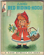 Little Red Riding Hood  --  Vintage Elf Book from Rand-McNally