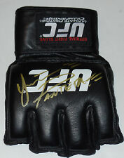 YAIR RODRIGUEZ SIGNED AUTO'D UFC OFFICIAL GLOVE MMA FIGHT NIGHT FOX VS BJ PENN