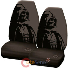 Star Wars Darth Vader Front Car Seat Cover Set Auto Accessory High Back 2pc