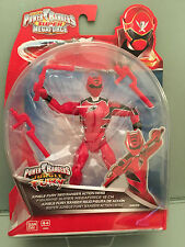 Power Rangers Super Megaforce Jungle fury  red ranger action figure