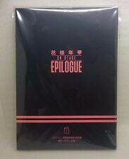 BTS BANGTAN BOYS 2016 On Stage Epilogue Program Book Korean-English Ver.