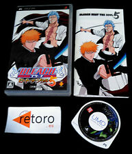 BLEACH 5 HEAT THE SOUL 5 SONY PSP Portable JAPONES