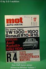MOT 17/65 R 4 VW 1300/1600 Opel Kadett NSU Prinz
