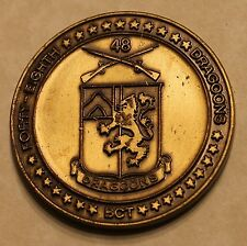 48th Infantry Division Dragons Combat Team Army Challenge Coin