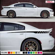 Decal Graphic Vinyl Rear Side Stripes for Dodge Charger 2011-2017 Panel Racing