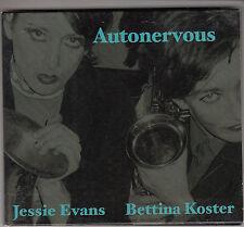 BETTINA KOSTER / JESSIE EVANS - autonervous CD