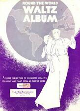 Round the World Waltz Album, Celebrated Waltzes for Voice and Piano, Book