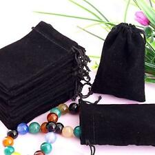 75x Velvet Pouches Drawstring Jewelry Gift Bags Pouches HOT