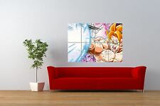 MANGA ANIME  JAPAN DRAGON BALL Z SUPER SAIYAN GOKU GIANT PRINT POSTER NOR0716