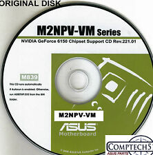 ASUS GENUINE VINTAGE ORIGINAL DISK FOR M2NPV-VM Motherboard Drivers Disk M839