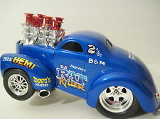 Vtg 41 WILLYS Muscle Machines PRO-MOD hemi OUTLAW Street DA RAT KILLER Injected