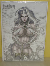 LADY DEATH REVELATIONS #1 - Limited Cover - NAUGHTY EDITION  - Coffin MATURE