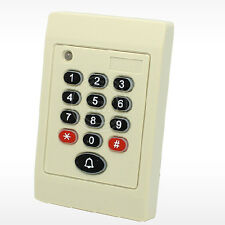Weatherproof 125KHz RFID Reader with Keypad Wiegand26 for Access Control System