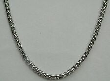Stainless Steel 5mm 30 Inch Wheat Chain