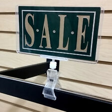 Clip On Sign Clamp POP Rotating Sign Holder - 3 pieces