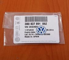 GENUINE VW GOLF BORA PASSAT JETTA BEETLE REMOTE KEY FOB LOGO EMBLEM BADGE 14MM