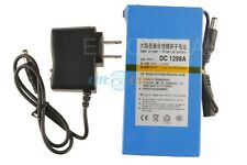 Newly Super Power New DC 12V Portable 9800mAh Li-ion  Rechargeable Battery Pack