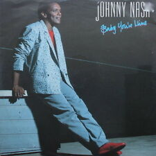 "12"" Maxi Johnny Nash Baby You`re Mine / Never Going Back 80`s Polydor"