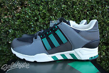 ADIDAS EQT RUNNING SUPPORT SZ 8.5 BLACK SUB GREEN CHALK WHITE EQUIPMENT S32144