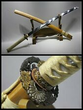 High Quality Japan Samurai Sword Katana Clay Tempered T10 Steel Razor Sharp #181
