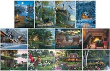 Jigsaw puzzle Multipack 12 assorted Rustic Landscapes Animals (=$4.99 each) NEW