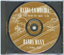 BANDA LA MOVIDA Noche De Amor BANDA MAXX Gema US EMI LATIN Advance PROMO 1996 CD