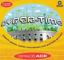 CYBER TIME  SPACE ACE - EDUCATIONAL 7 TO 12 YEARS WINDOWS 95, 98, XP