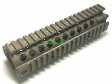 HKA 7 inch M4 DD MK18 Aluminum RIS RAS Rail Handguard For Airsoft (Brown) US