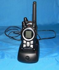2 Motorola K7GMRCEJ Portable Walkie Talkie, charger AC Adapter and Battery