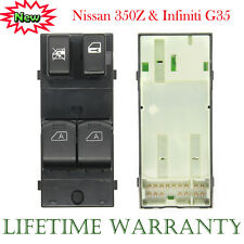 For 2003-2008 Nissan 350Z G35 Power Window Master Switch Left Driver LH Side New