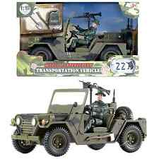 World Peacekeepers Military Transportation Army Vehicle Toy with figure 3+ Years