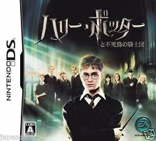 Used DS Harry Potter and the Order of the Phoenix NINTENDO JAPANESE IMPORT