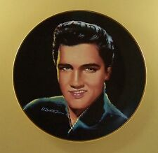 Elvis Presley Portraits of the King I'M YOURS Plate #3 + COA David Zwierz