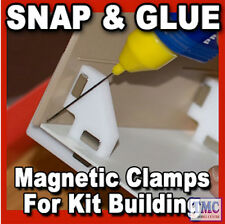 PPR-SS-02 Proses Snap & Glue Set Square 2 Magnetic Clamps w/8 Magnets