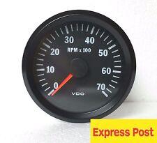 VDO COCKPIT VISION TACHOMETER 12V 80mm  7000 RPM AUTOMOTIVE 333015032