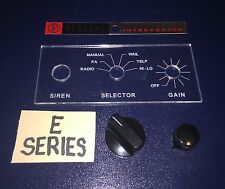 RESTORATION KIT FOR FEDERAL INTERCEPTOR PA20A SIREN        FOR  E  SERIES ONLY