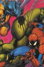 Marvel Hulk Wolverine Spider-Man Poster by Joe Madureira