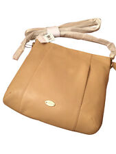 NWT~~COACH F34511 ISABELLE Pebbled Nude Leather Hobo Shoulder Bag/Crossbody