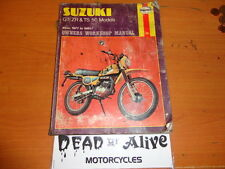 SUZUKI TS 50 & GT / ZR  HAYNES  WORKSHOP MANUAL