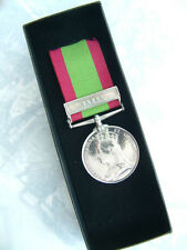 AFGHANISTAN MEDAL BRITISH INDIAN MILITARY FORCES ARMY KABUL BAR AFGHAN WAR BOXED